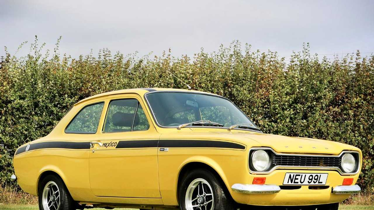 Buy this genuine Ford Escort Mk1 Mexico at auction