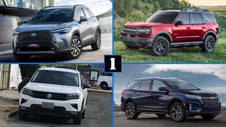 Corolla Cross, Bronco Sport, Tarek e outros SUVs médios que chegam até 2023