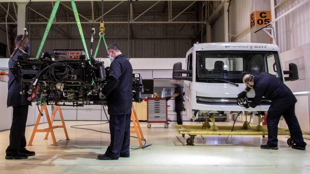 Volkswagen e-delivery producao