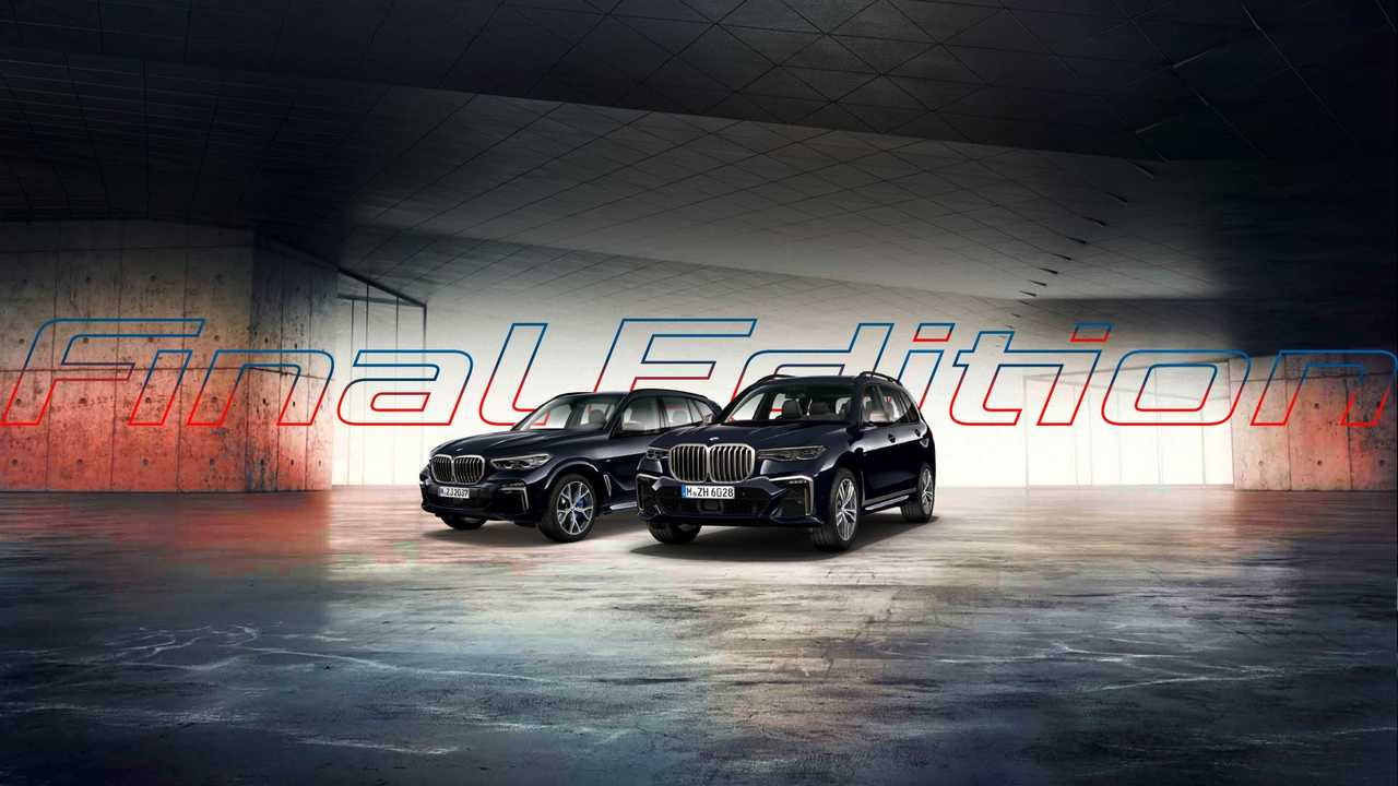 BMW Final Edition X5 ve X7