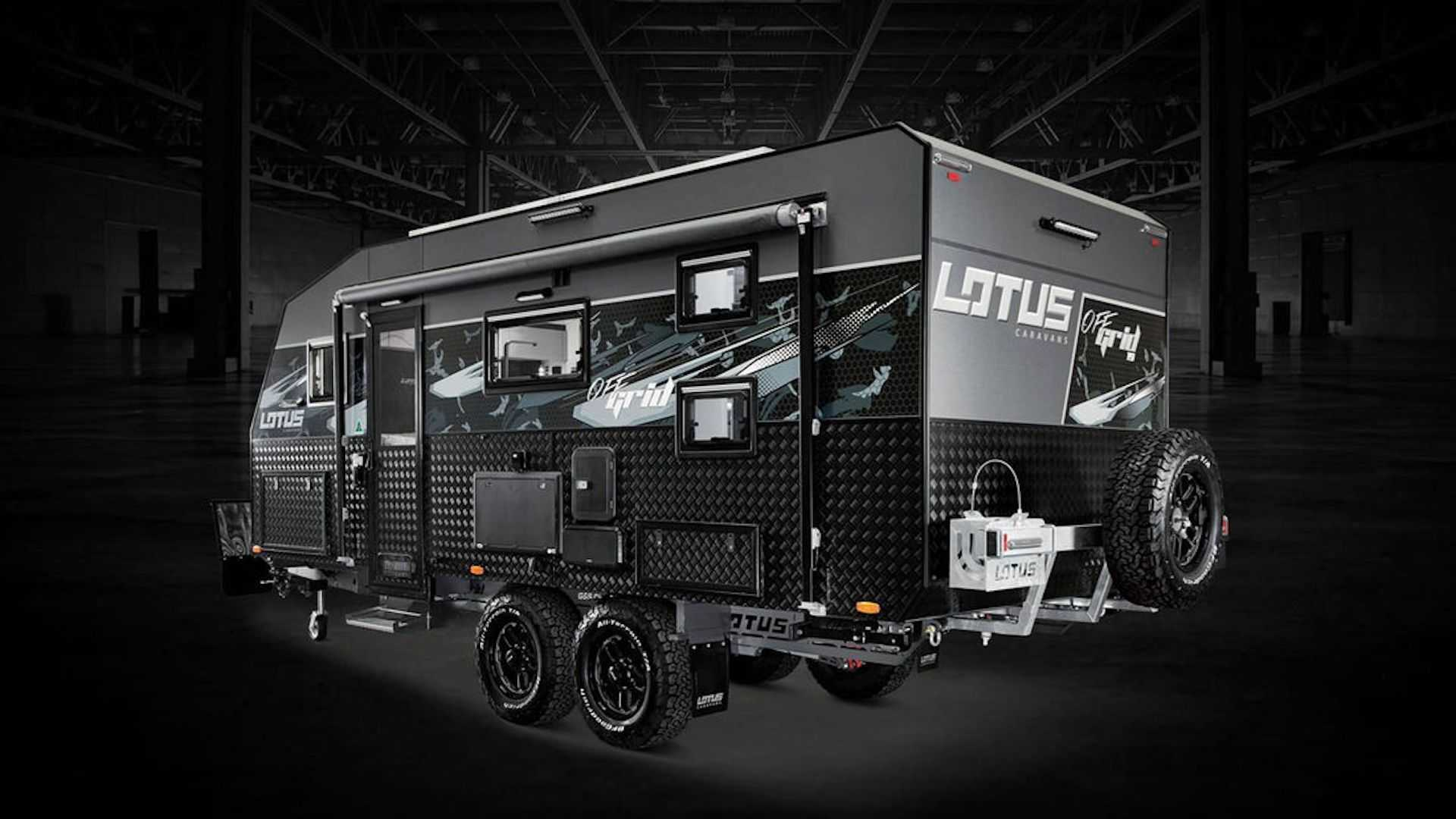 2020 Lotus Caravans Off Grid is a luxurious trailer for family trips