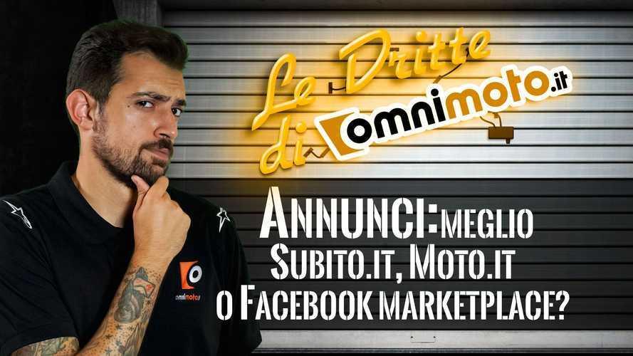 Annunci usato: meglio Subito.it, Moto.it o Facebook Marketplace?