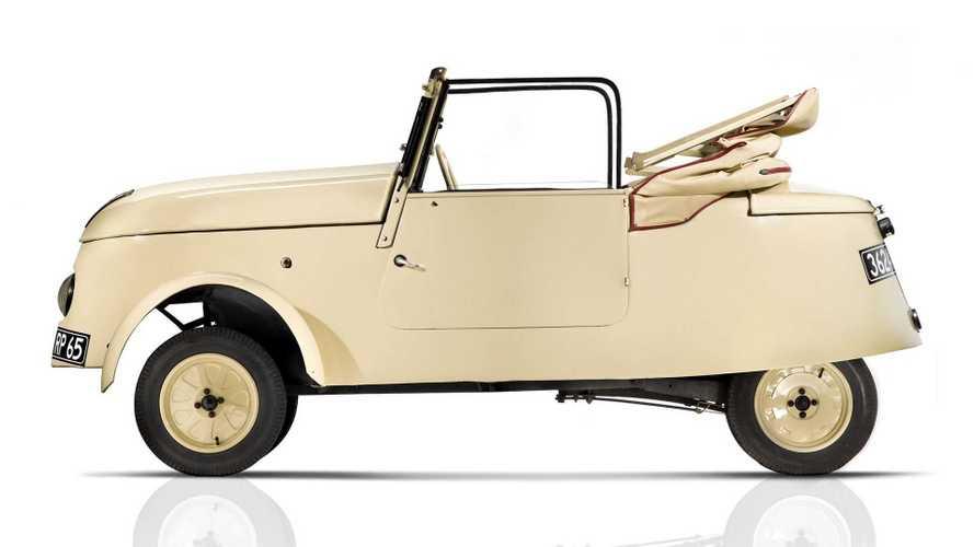 Peugeot VLV - 1941 -capota aberta