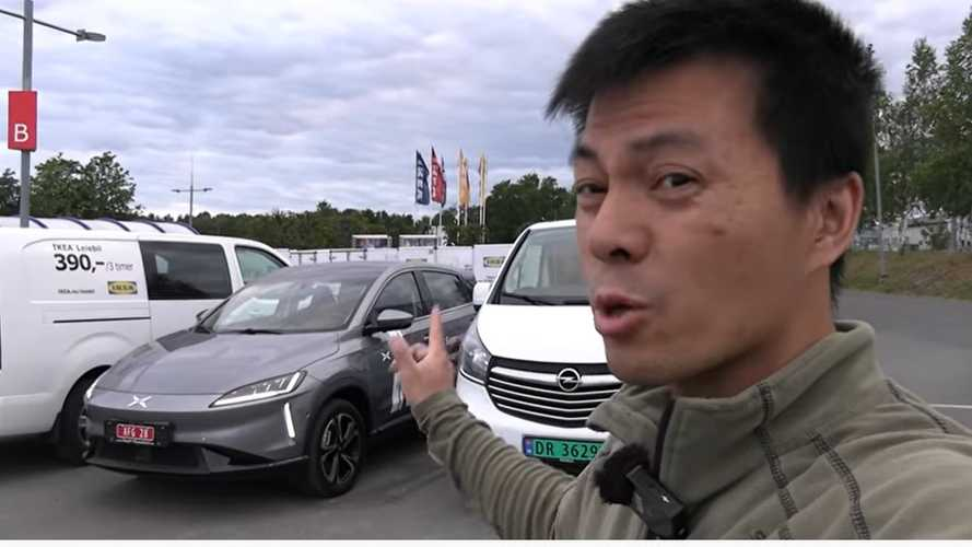 Xpeng G3 Gets Infotainment System Upgrade And Bjorn Nyland Checks It Out