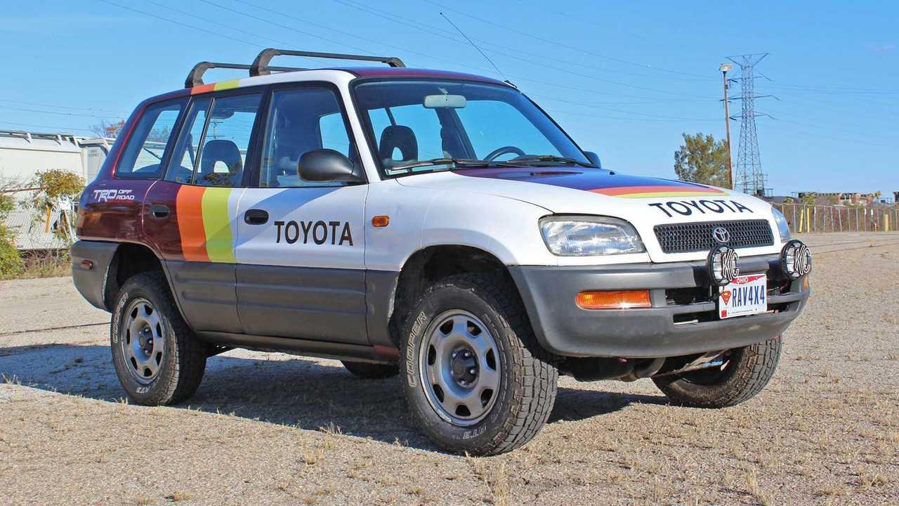 Toyota RAV4 TRD Wrap