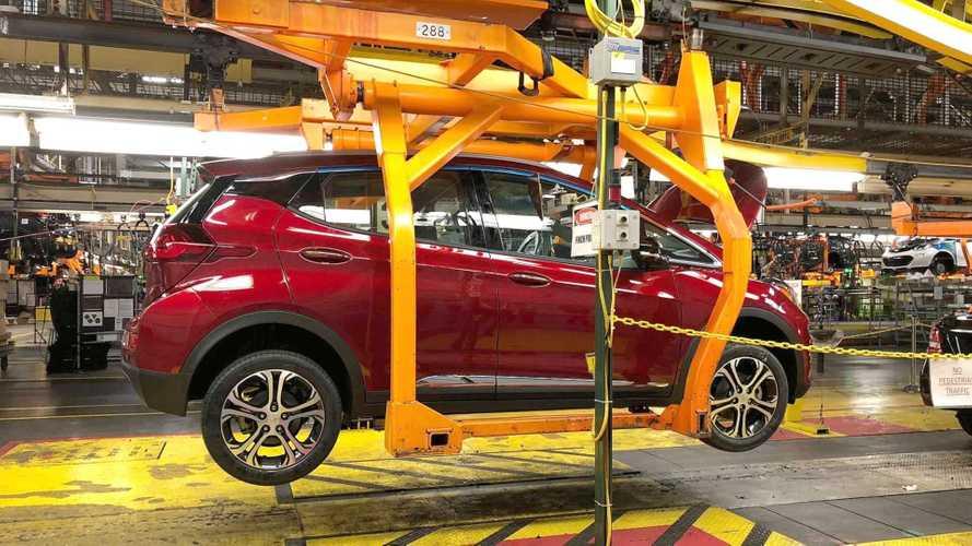 GM pode começar a produzir carros elétricos no México em 2023