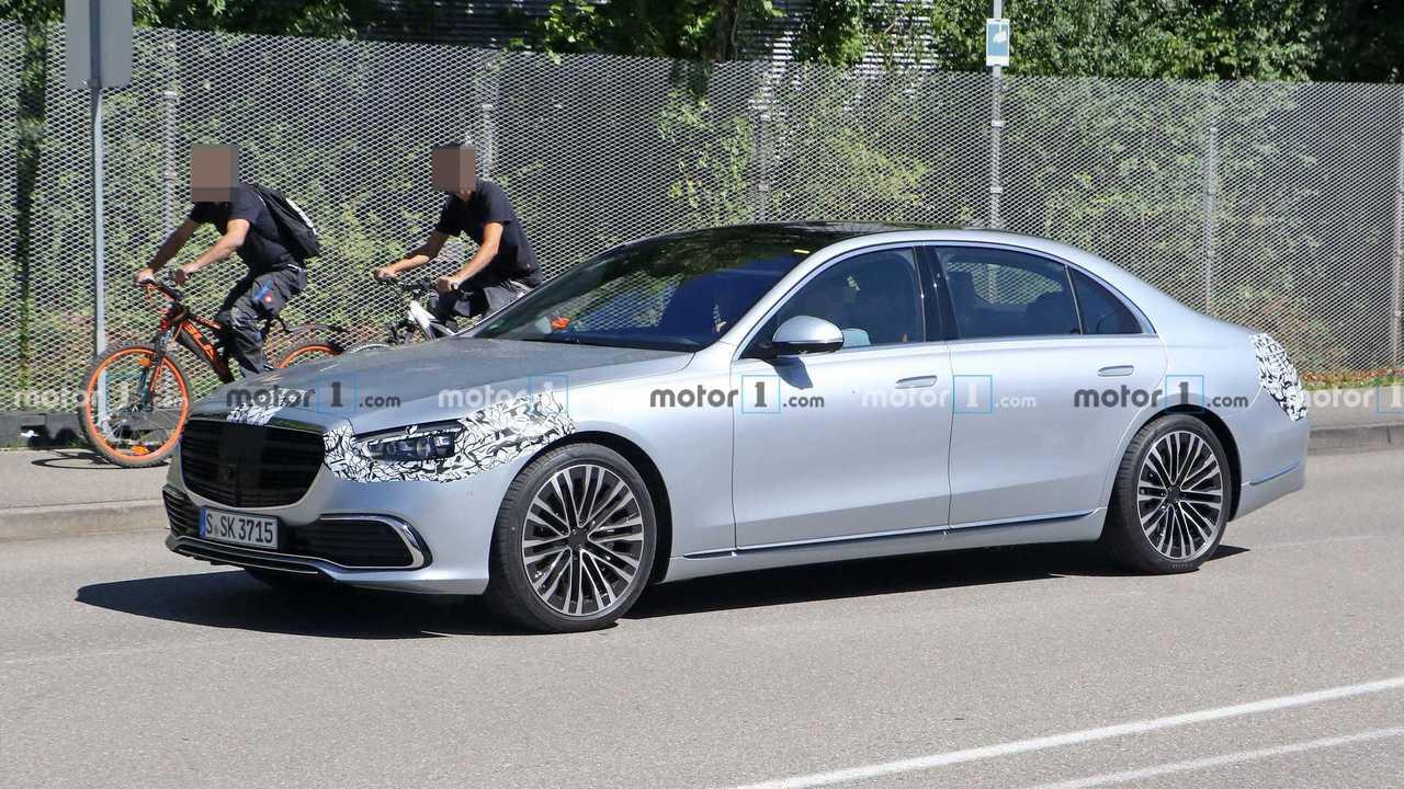 2020 Mercedes S-Serisi Yeni Casus Fotoğraflar | Mercedes ...