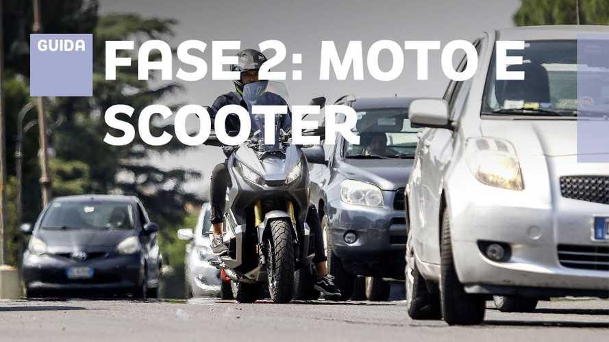 Fase 2: moto e scooter saranno le armi contro il Coronavirus