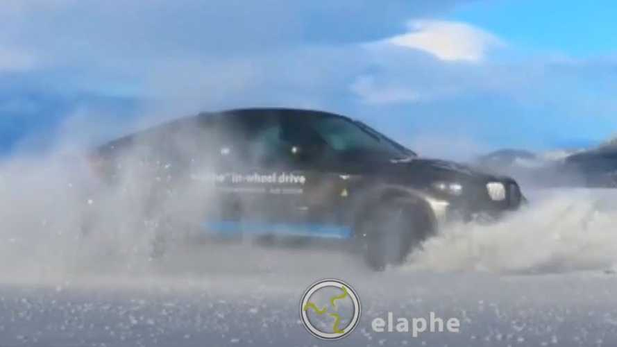 Watch This Ultimate Tank Turn: This Electric BMW X6 Spins Circles With Ease