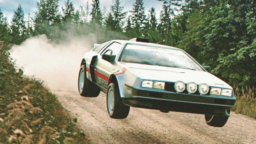 What If DeLorean Had Made A Group B Rally Car?