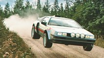 delorean dmc 12 rally groupb design