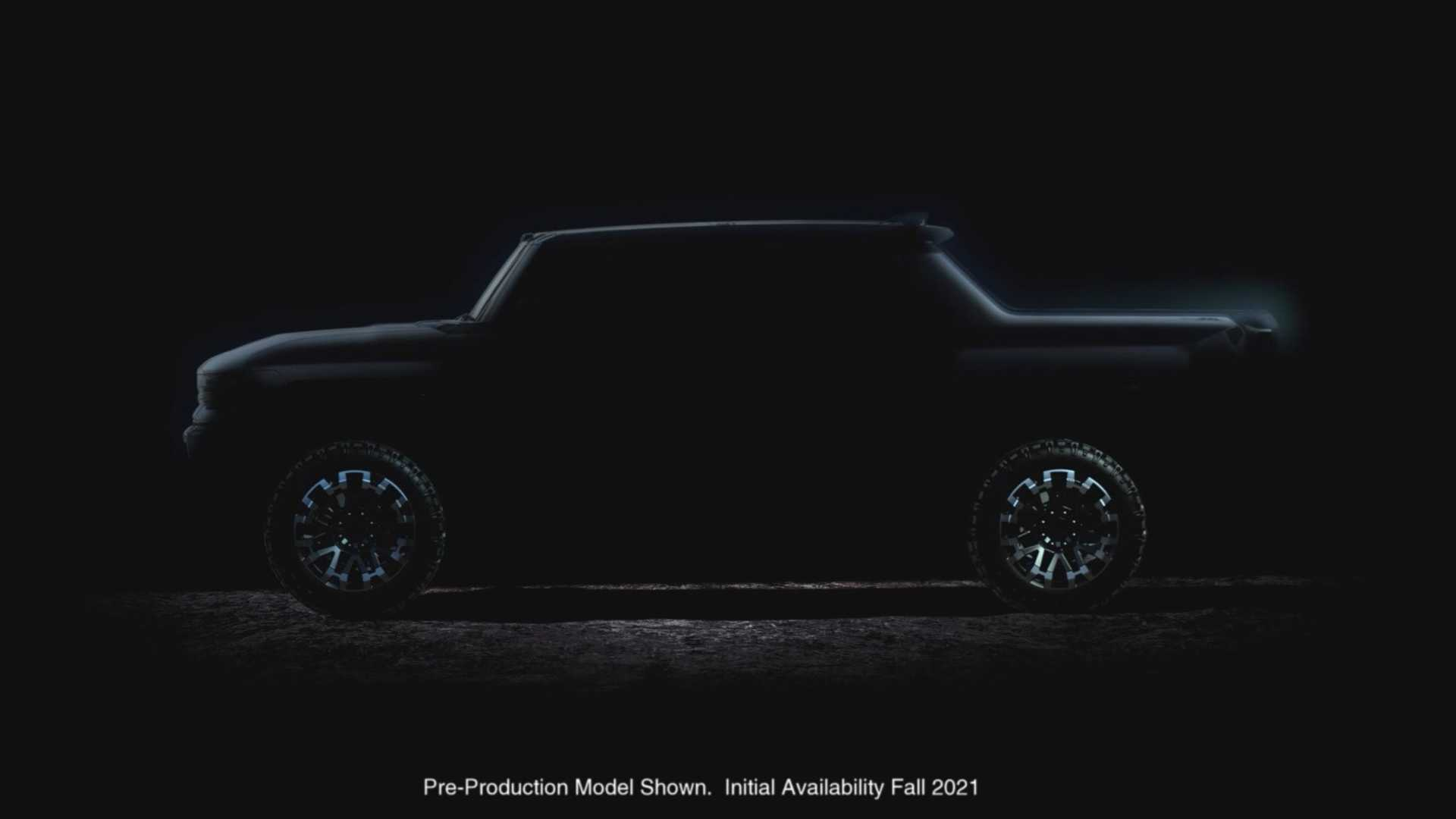 GMC Hummer Electric Pickup Truck Reveal Set For This Fall ...