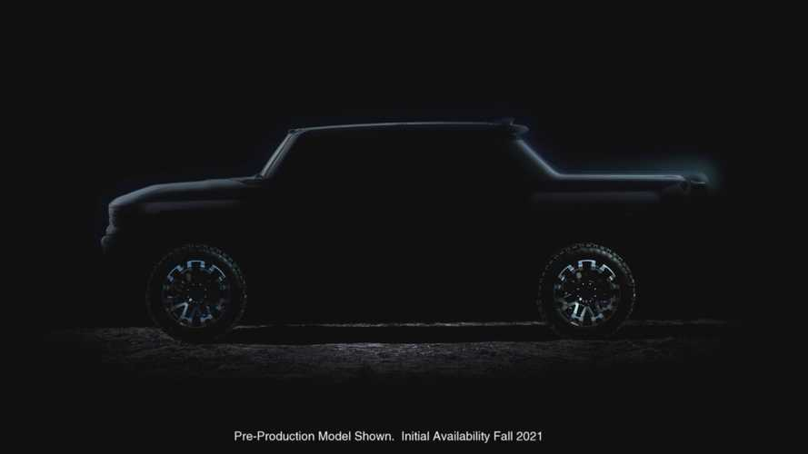GMC Hummer Electric Pickup Truck Reveal Set For This Fall, Will Have Crab Mode