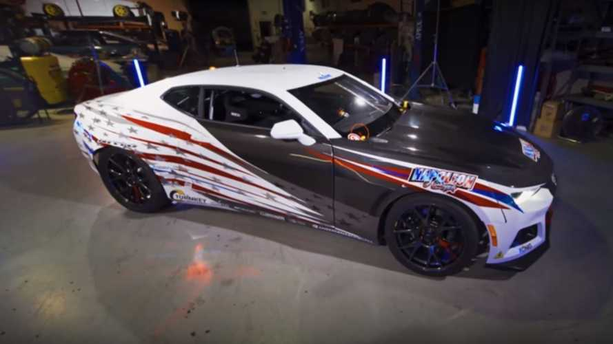 Behold The Chevy Camaro EL1 Electric Drift Car