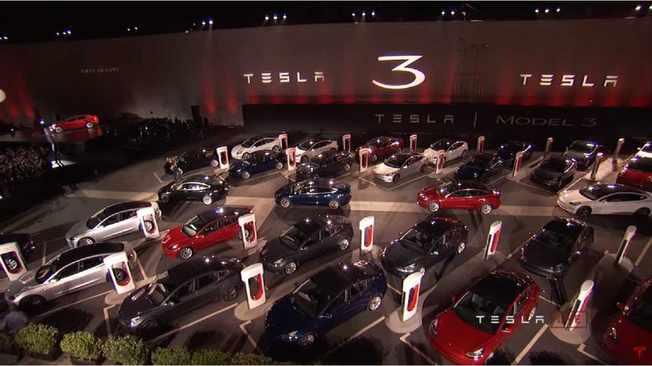 Cumulative Production Of Tesla Model 3 Crosses 30,000
