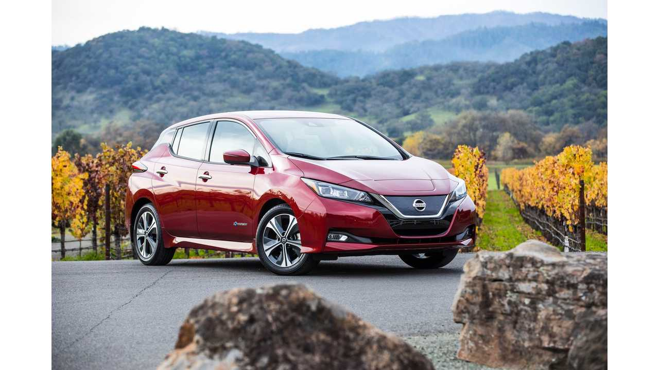 Ohio Joins In On $3,000 Discount Offer On 2018 Nissan LEAF