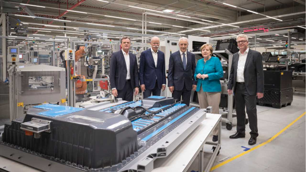 Angela Merkel: Germany Must Invest Heavily In Electric Cars