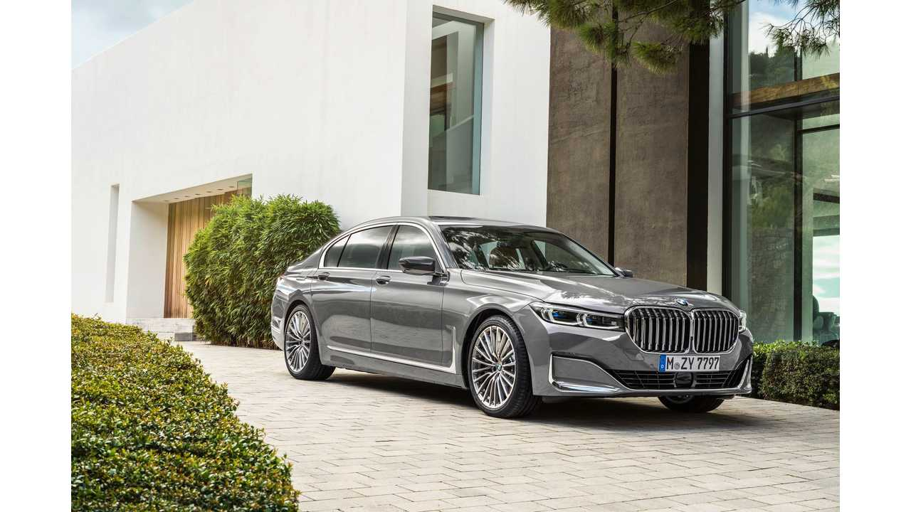 The new BMW 7 Series (ICE)