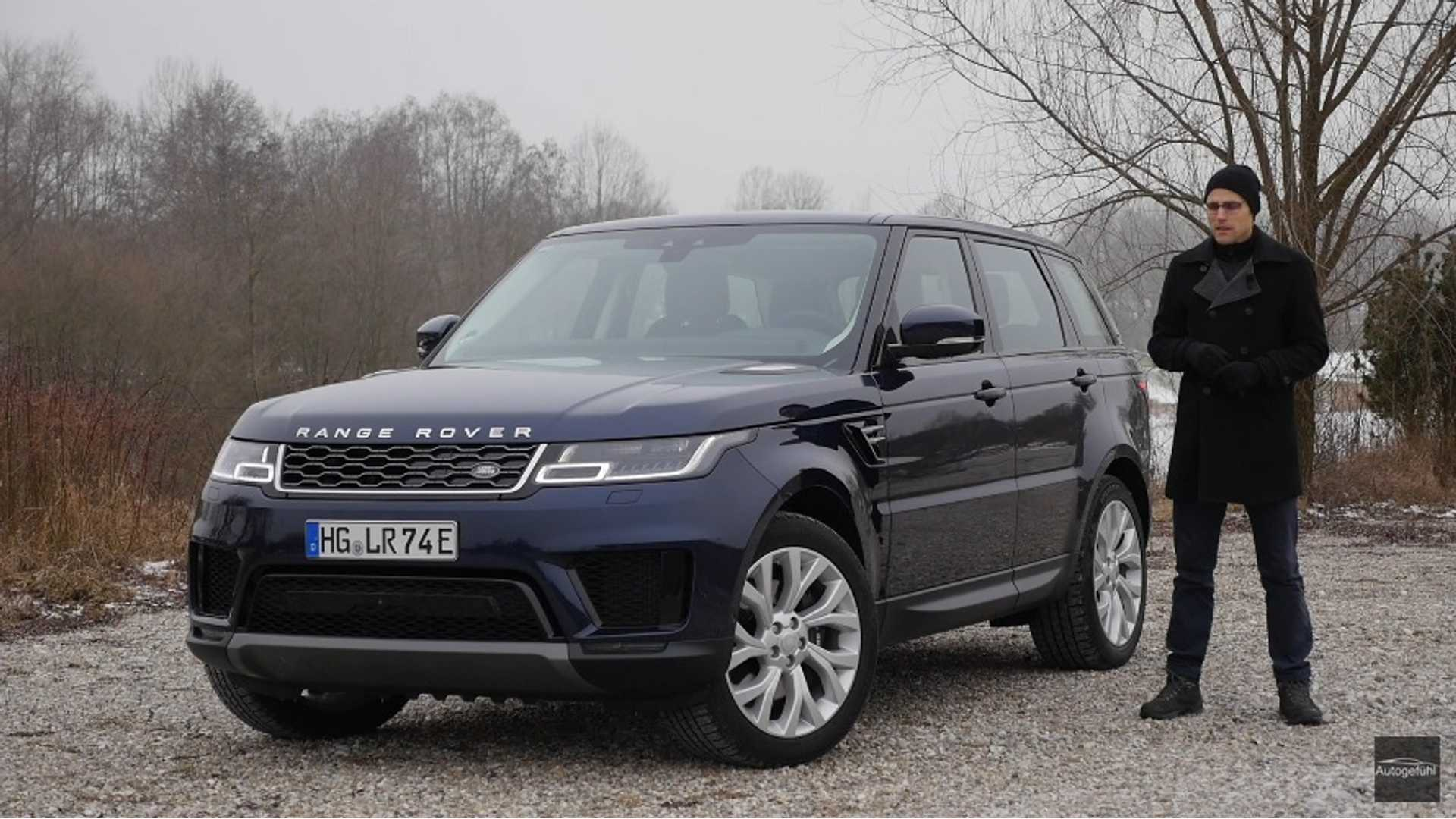 Range Rover Sport P400e Phev Review By Autogefuhl Video