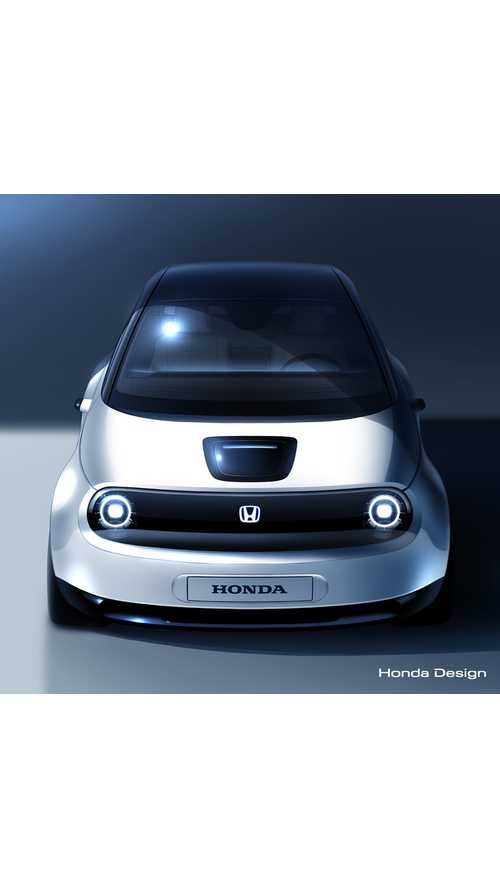 Honda Teases New EV Prototype Ahead Of Geneva Debut