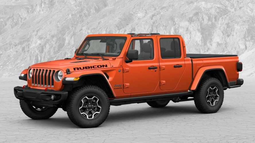 2020 Jeep Gladiator Configurator | Motor1.com Photos
