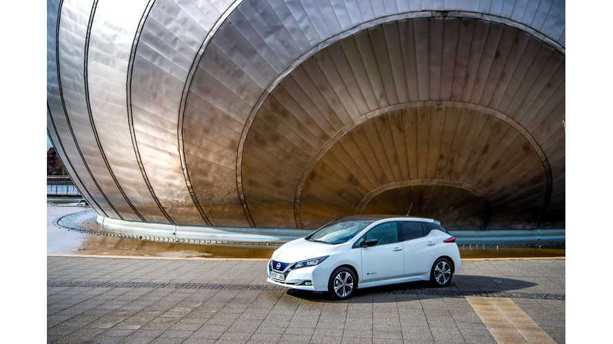 In December 2018 Nissan Sold 3,604 LEAFs In Europe