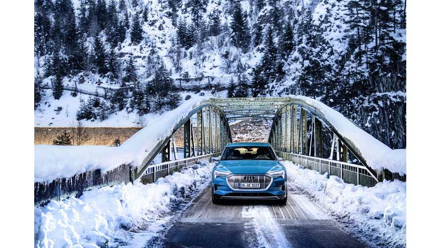 Audi e-tron Winter Range Test: Video