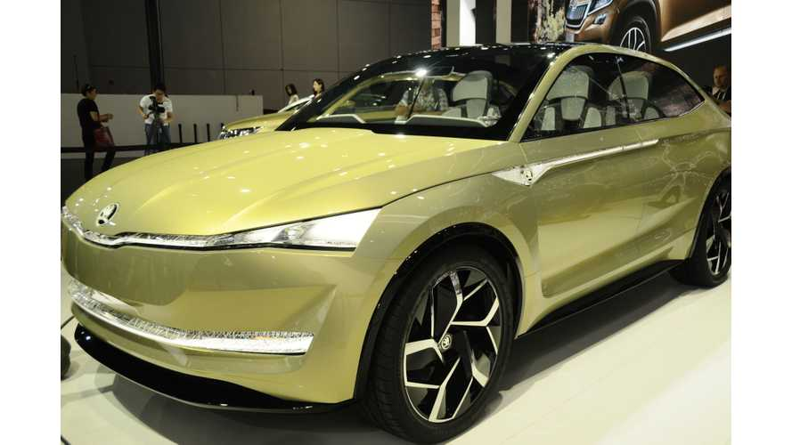 Skoda Vision E:  First Hope For A Long-Range Affordable Electric SUV?