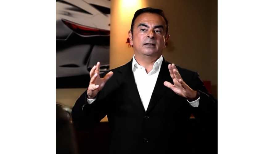Carlos Ghosn Applauds Musk, Tesla - Nothing But Praise