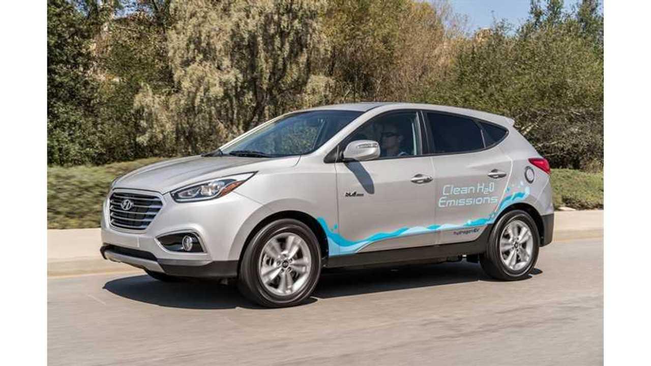 Hyundai Tucson Fuel Cell SUV Drivers Crack Past 2 Million Miles Driven
