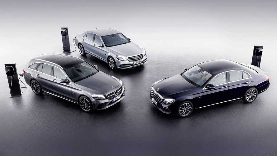 Mercedes To Unveil C-Class & E-Class Plug-In Hybrid Diesels In Geneva