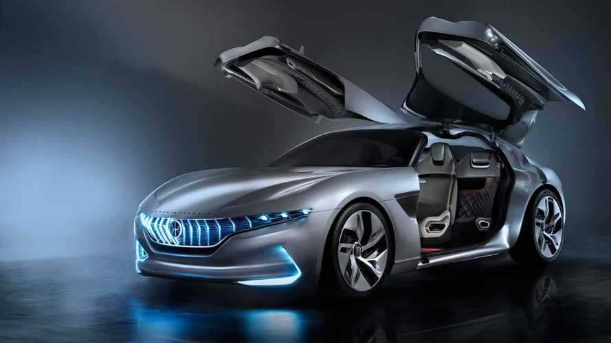 Electric Pininfarina HK GT Spreads Its Wings In Geneva