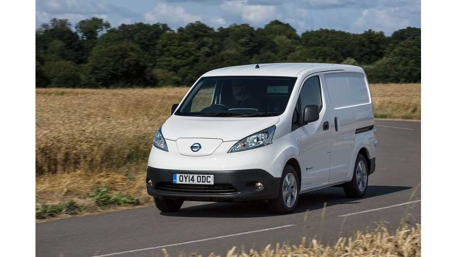 Nissan e-NV200 Wins One More Prestigious Award