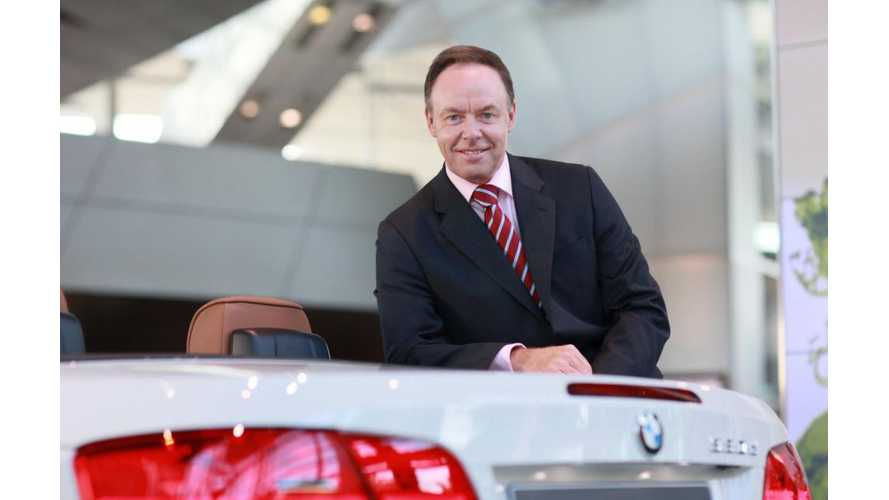 BMW Head Of Sales & Marketing: Cheap Gas May Kill Electric Car Sales (w/video)