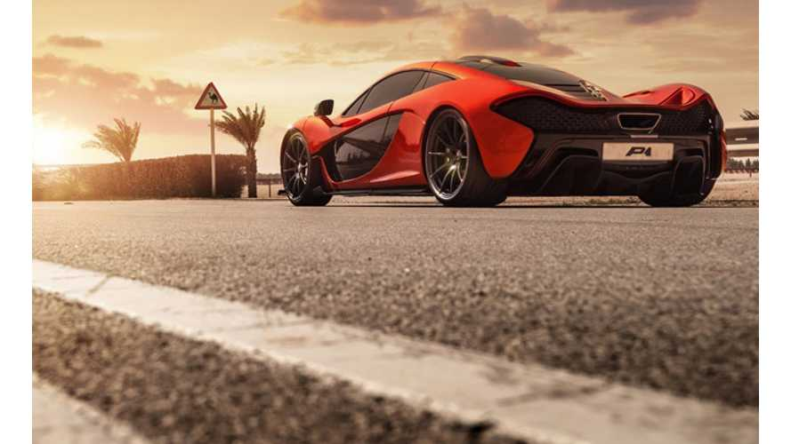 Production Of McLaren P1 Comes To An End