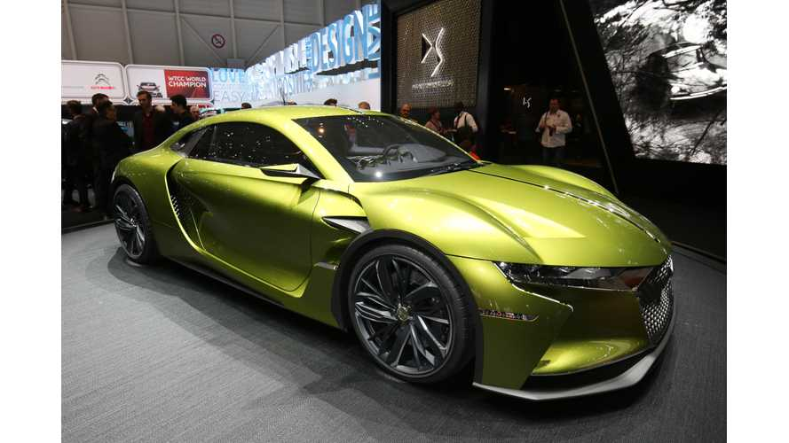 Gorgeous DS E-TENSE Unveiled In Geneva (Specs, Photos, Videos)