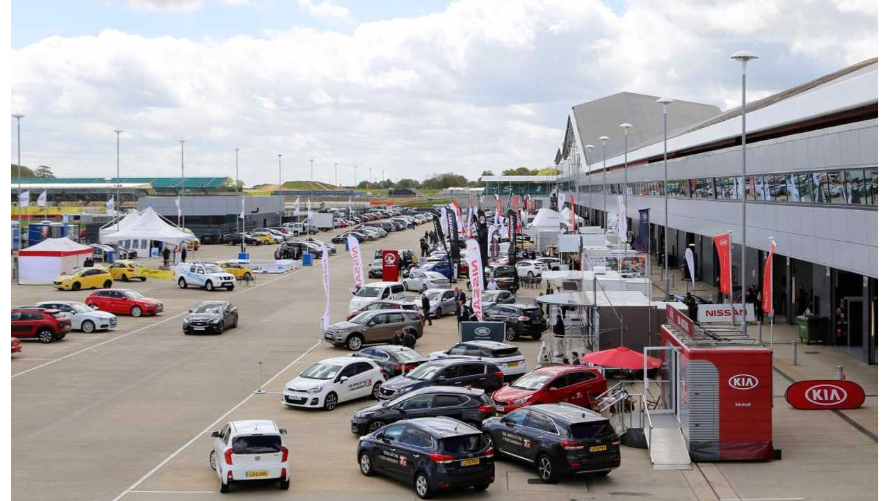Major Electrifying EV Demonstration To Be Held In May At Silverstone Circuit