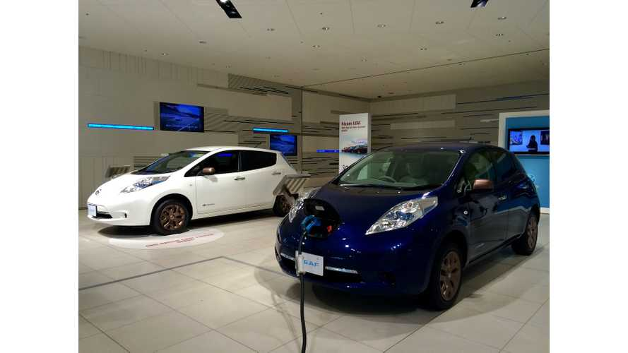 Since Japan Has 1,600-Plus CHAdeMO Chargers At Nissan Dealerships, U.S. Should Have 2,500