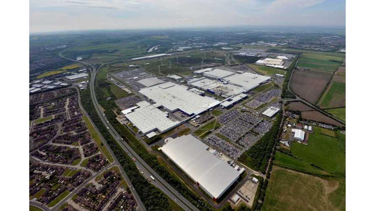 Nissan's Battery Plant In Sunderland To Produce Next-Gen EV Batteries