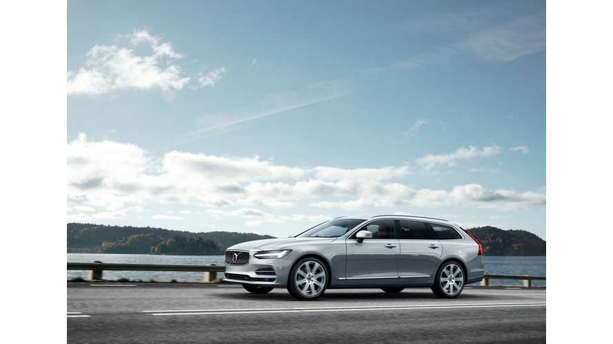 Volvo Presents New V90 (w/Video)