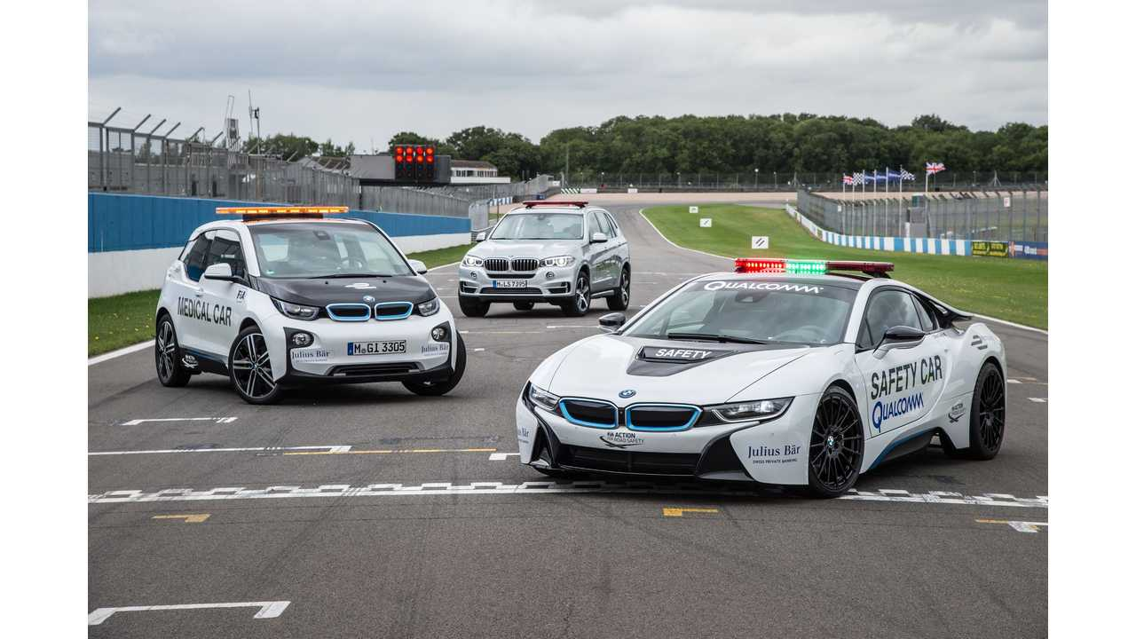 BMW Returns As Official Vehicle Partner For Second Season Of Formula E