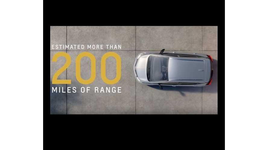 Chevrolet Video Featuring Production All-Electric 2017 Bolt