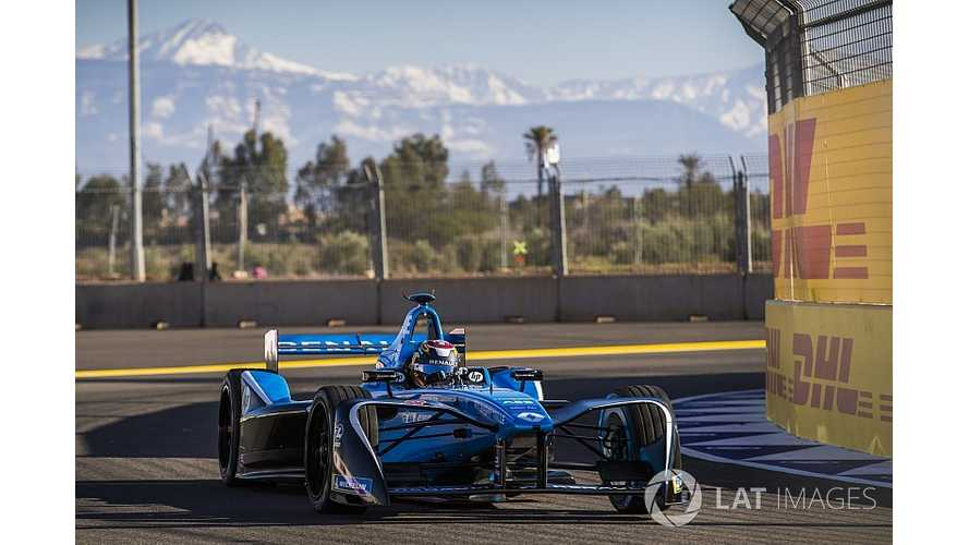 Buemi Grabs Pole For Marakesh Formula E ePrix