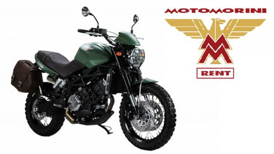 Nasce Moto Morini Short Rent