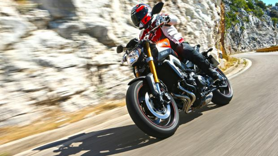 Yamaha MT-09 TEST