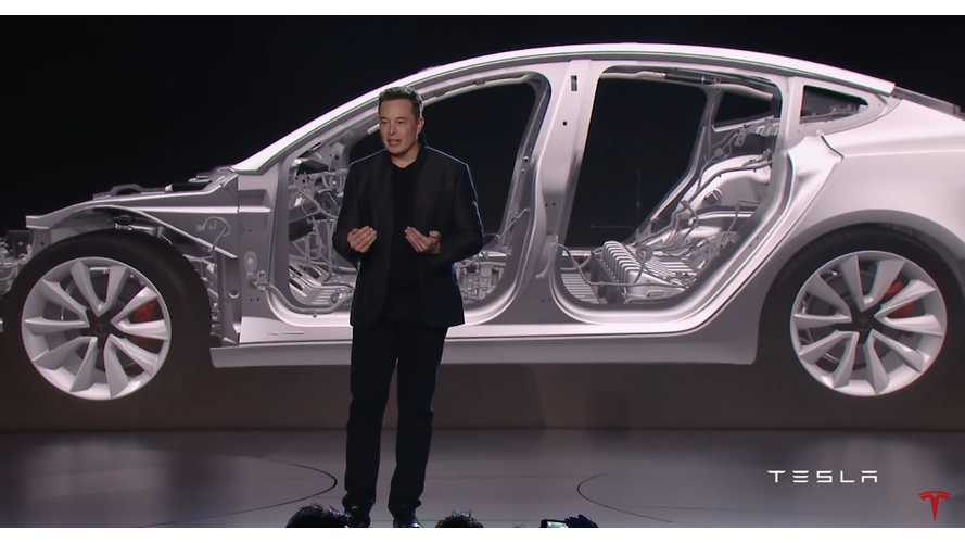 Elon Musk: Tesla Model S, Model X Battery Capped At 100 kWh, Model 3 To Be Lower