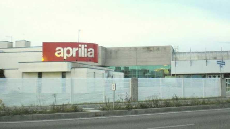 Aprilia: produzione ferma a Scorzè