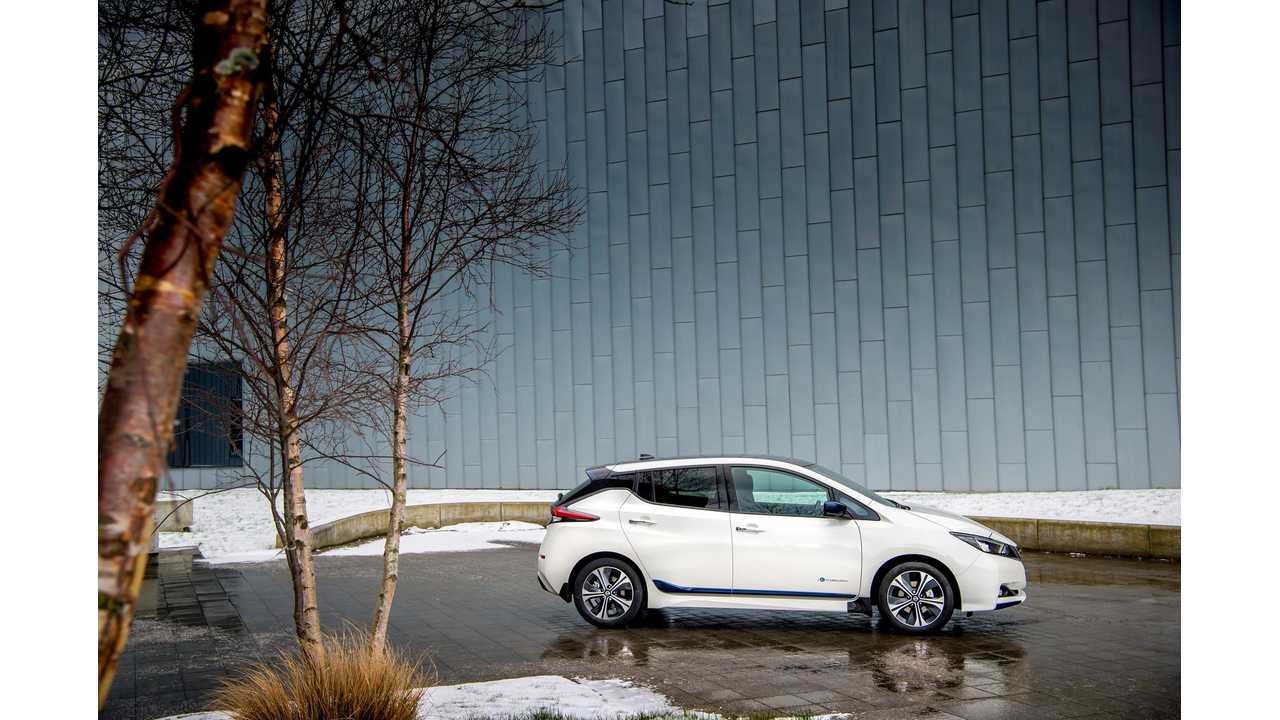 New Nissan LEAF Ready To Charge Up These 16 Markets