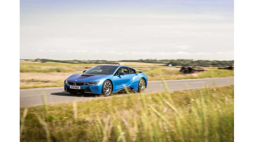 How Far Can A BMW i8 Go On Electricity - Video