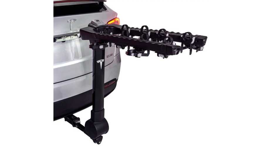 Bike Rack For Model X Now Available From Tesla
